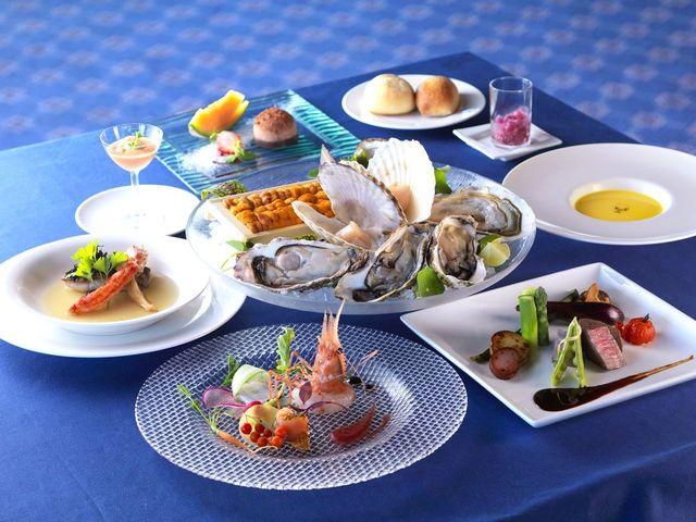 【特選創作ディナー】新鮮な海産物を中心としたシェフ自慢の創作料理(一例)