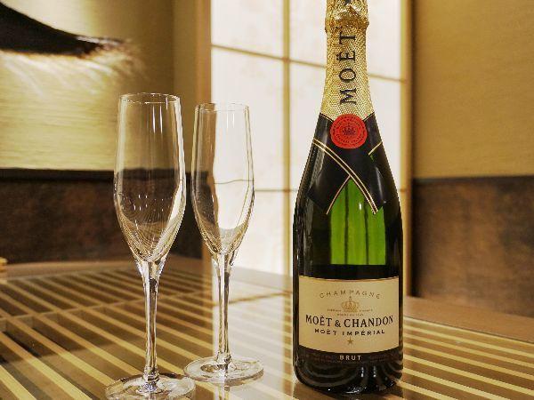 ◆モエ・エ・シャンドン/人気を誇るシャンパンをお楽しみください※イメージ