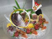 ◆鯛の尾頭付き刺身盛り(4名盛りイメージ)