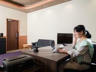 ◆プライベートタイムとしっかり区別できる個室ワーキングルーム(イメージ)