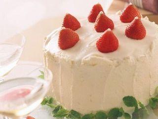 【プラン特典】ホールケーキ特典付き♪※イメージ